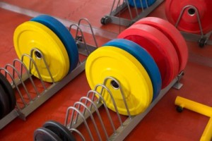 Colored Barbell Plates